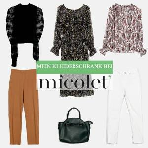 Mein Kleiderschrank bei Micolet