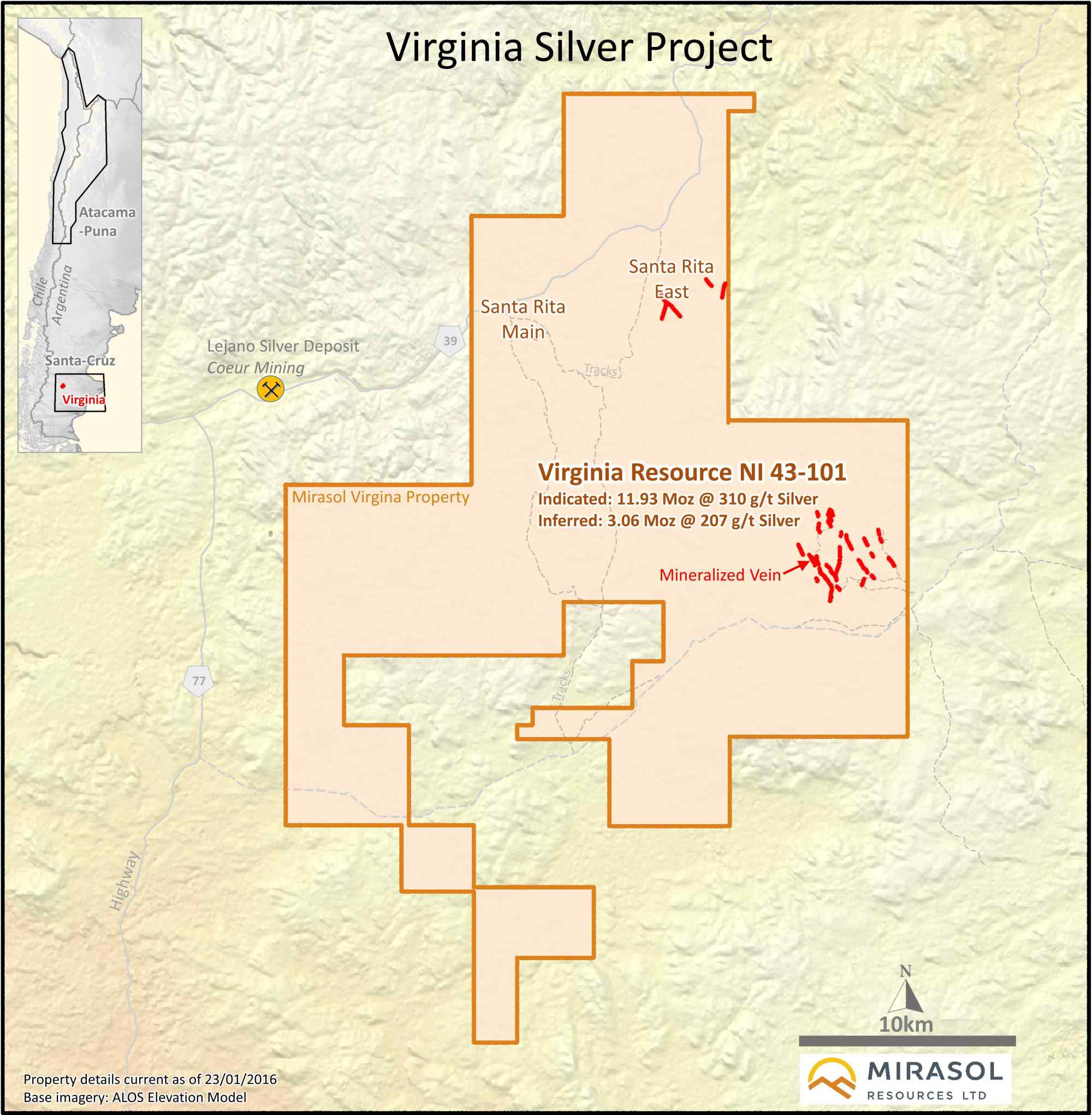 hight resolution of  for as yet un recognized shallow soil covered high grade mineralization that would expand the district scale potential of the virginia silver project