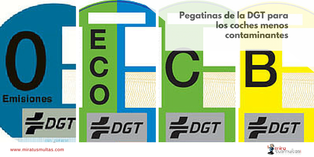 Image result for pegatinas eco dgt