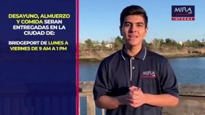 MIRA USA Informa! Grab & Go #Comidas a #Estudiantes en el condado de Fairfield
