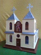 Macheta Bisericii Ortodoxe Sfântul Ilie