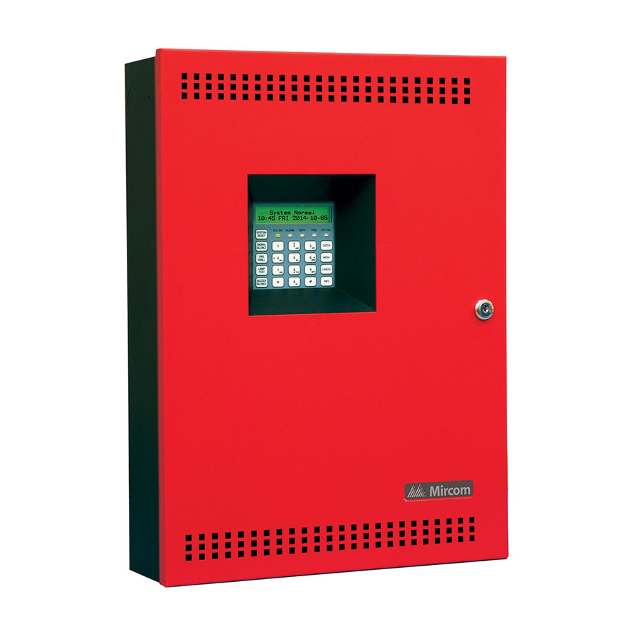 hight resolution of conventional fire alarm systems