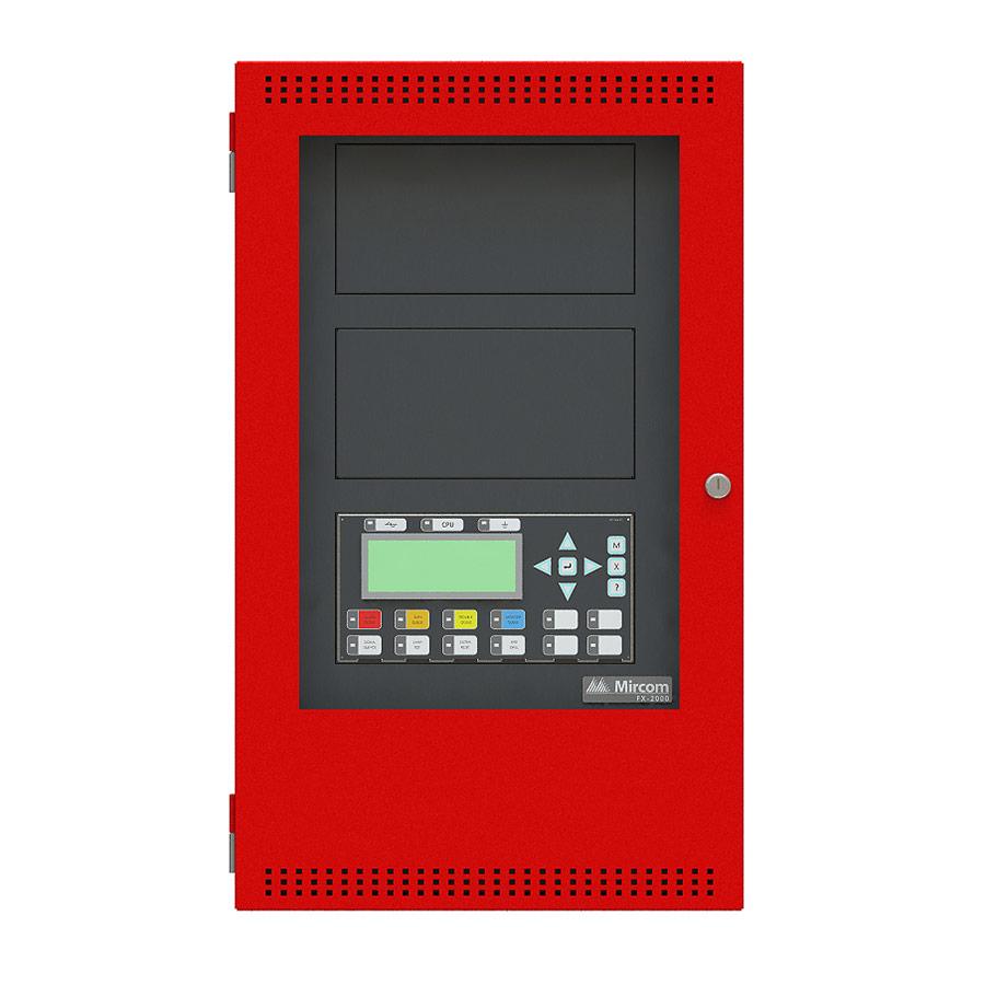 hight resolution of mircom fx 2000 red