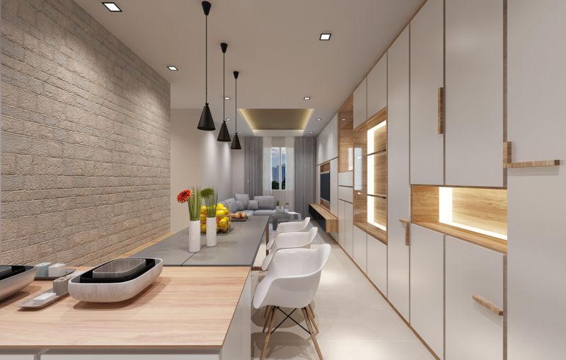 дизайн 3 комнатной квартиры 21