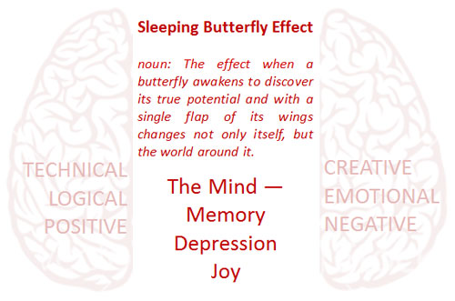 The Sleeping Butterfly Effect: The Mind — Memory, Depression and Joy