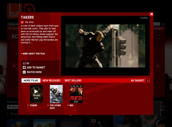 Film4oD - Trailer player