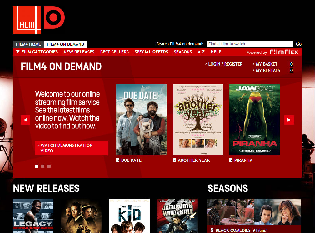 Film4oD - Film page - top
