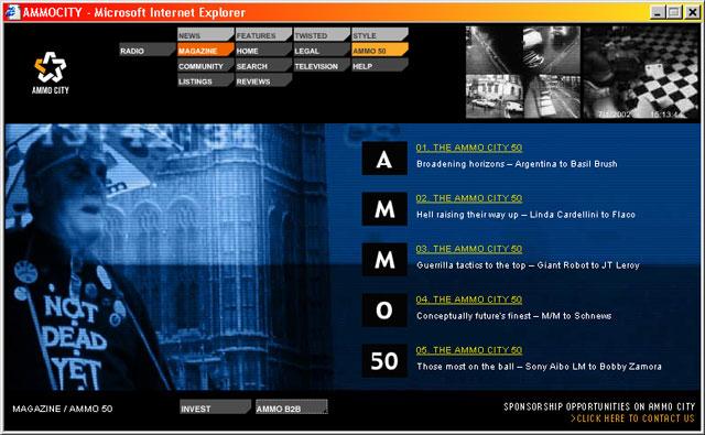 Ammocity — Magazine Ammo50 index section
