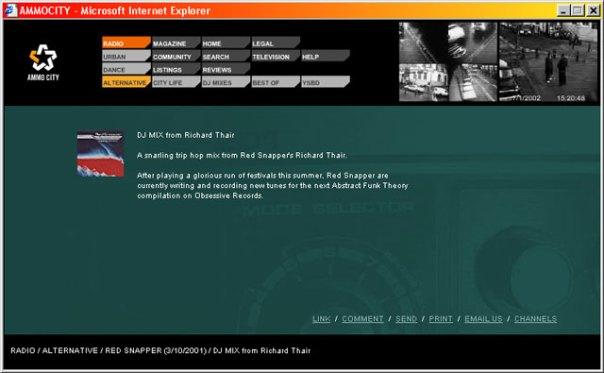 Ammocity - Radio Alternative information for DJ set