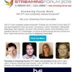 Streaming Forum 2019 - OTT Panel