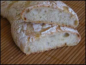 Ciabatta – Pan Italiano – Chapata