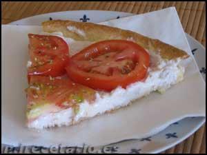 Tarta Salada de Mascarpone o «Comida PreParada»