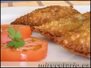 Empanadillas de Carne y Kaki
