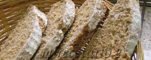 Rebanadas de pan ecomonegros