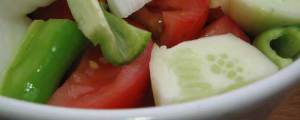 La ensalada del gazpacho