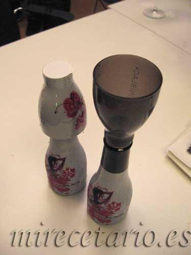 Miniblack Rose, cerrado, abierto