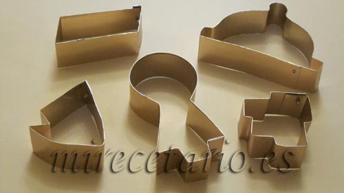 Galletas Decoradas IV, moldes para cortar galletas personalizados