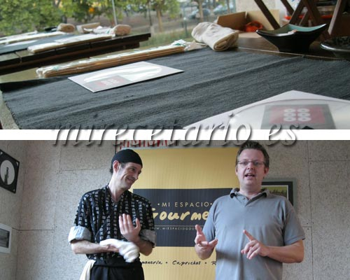 Curso de Sushi con Javier y Frank
