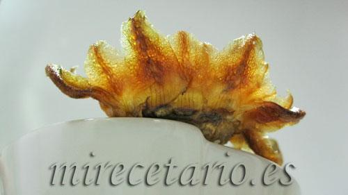 Corazones de alcachofa fritos