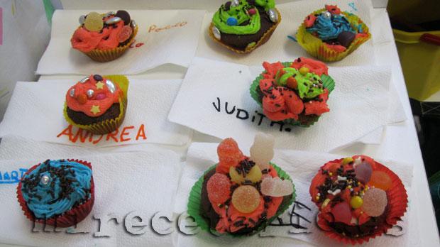 Mini cupcakes de chocolate y un cuento de Hadas