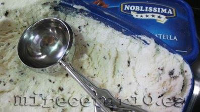 helado de stracciatella
