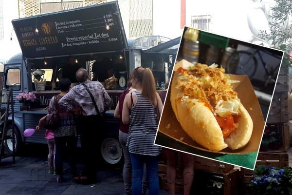Food truck en Zaragoza
