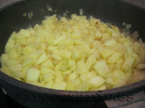 Salsa de manzanas