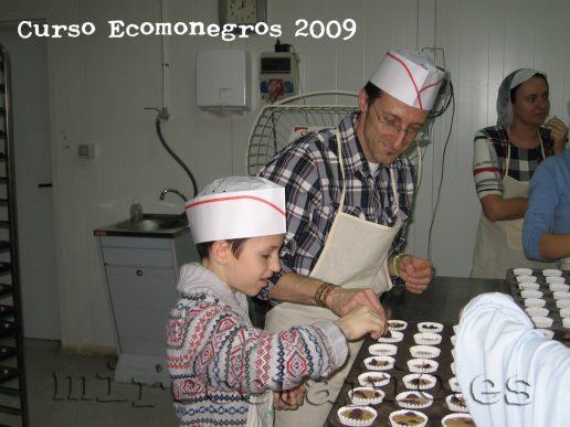 Taller de panadería en familia en EcoMonegros