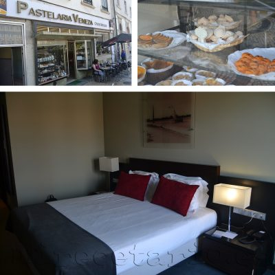 Hotel Melia Ria Aveiro y pastelerías...