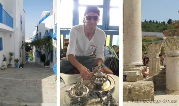 Te tunecino, en Sidi Bou Said - Túnez