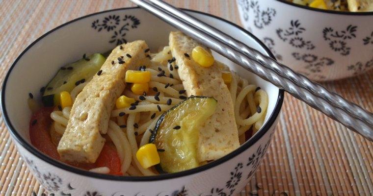 Wok de Tofu al Teriyaki {Recetas Saludables}