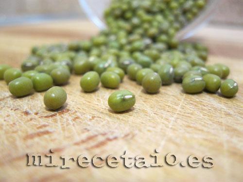 Soja Verde = Judía Mungo = Poroto Chino