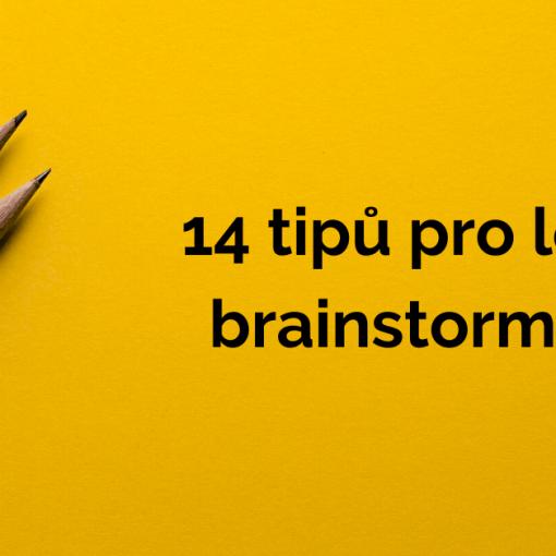 14 tipů pro lepší brainstorming