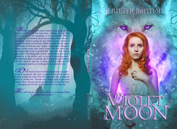 BOOK | JENNIFER SPINZIG - VIOLET MOON