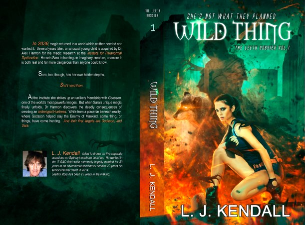 BOOK | LUKE KENDALL - WILD THING