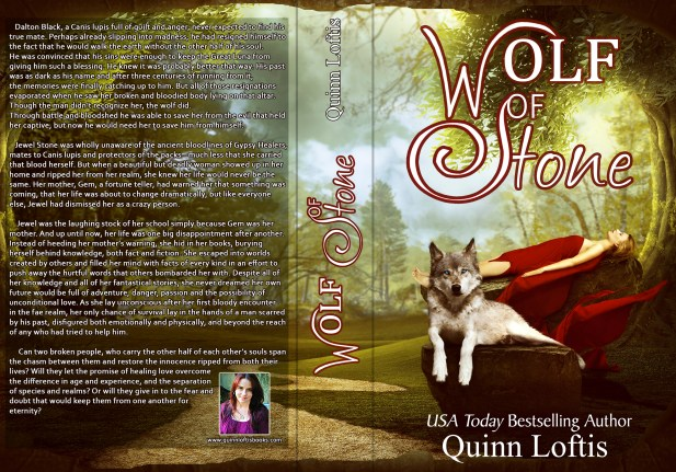 BOOK | QUINN LOFTIS - WOLF OF STONE