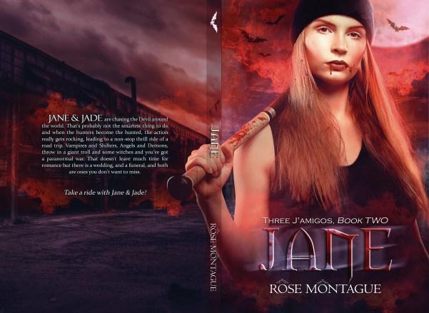 BOOK | ROSE MONTAGUE - BOOK COVER 2 JANE