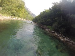 At the very same moment, the saint disappeared before their eyes. And this is how Boracko Lake, near Konjic, was formed. (Photo Credit: neretvarafting.ba)