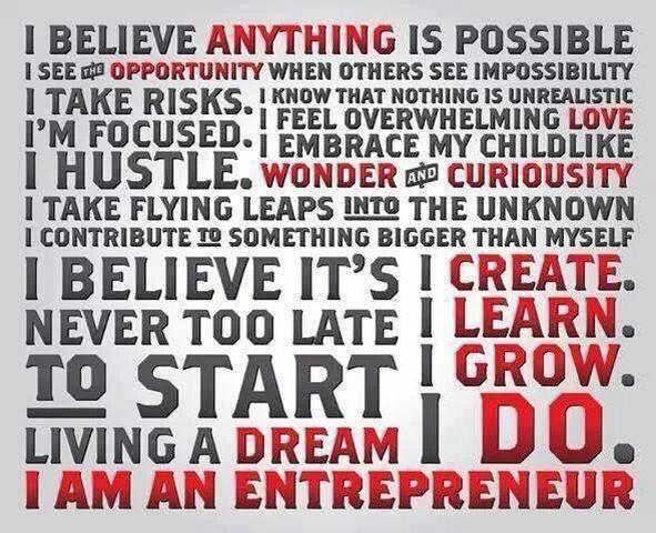 entrepreneurial woman