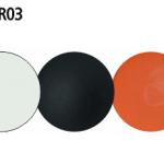 Blanco - Negro - Naranja