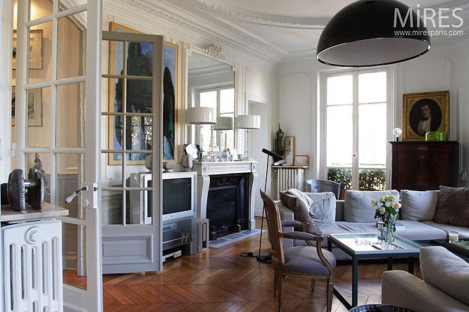 peinture style industriel une maison moderne la campagne. Black Bedroom Furniture Sets. Home Design Ideas
