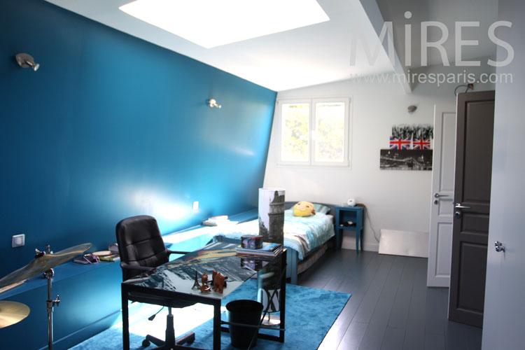 Chambre Bleue D'ado C1036  Mires Paris