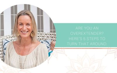 Are you an Overextender? Here's 5 steps to turn that around.