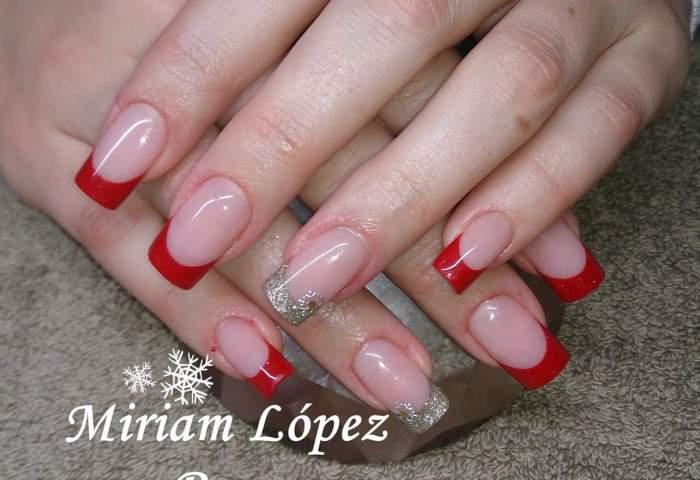 Rojo Y Dorado Miriam Dream Nails