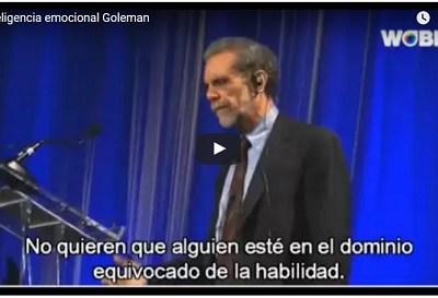 Inteligencia Emocional por Daniel Goleman
