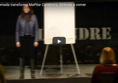 Jornada con María Pilar Casanova y el método Atrévete a Comer