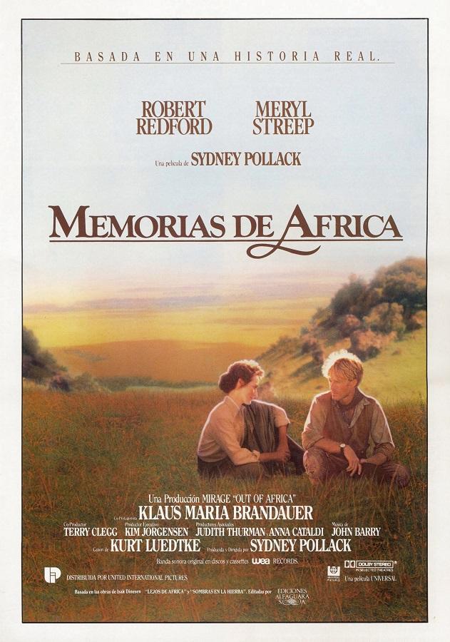 Memorias de África-portada