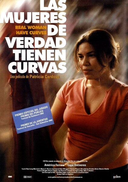 Las mujeres de verdad tienen curvas-portada
