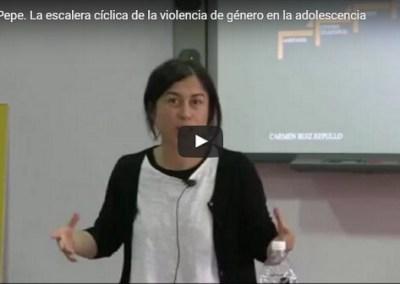 La escalera cíclica de la violencia de género en la adolescencia