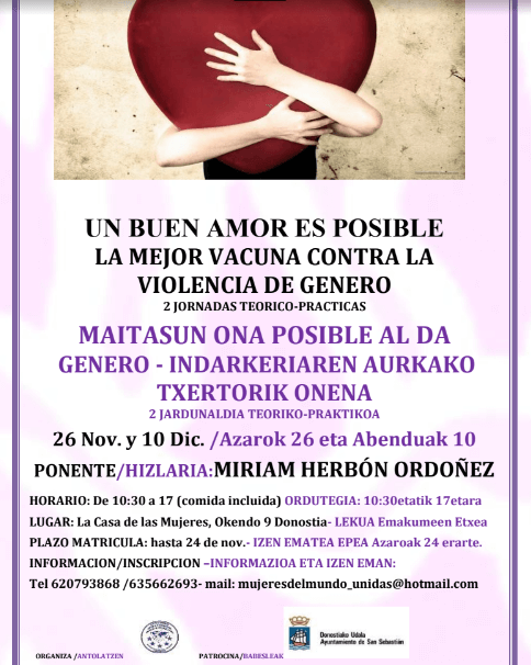 Jornadas sobre el Buen Amor en Donostia